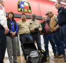 Atmos Energy Donates Funds to Fire Department for Underwater Vehicle