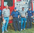 Mississippi Employees Host Hog Roast to Thank First Responders