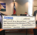 Atmos Energy Donates $2,500 to Little Elm Park
