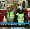 Atmos Energy delivers lunch to thank Lubbock firefighters