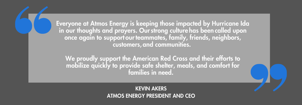 Atmos Energy Donates $1 to American Red Cross
