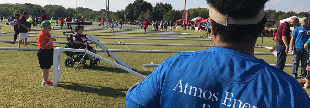 Atmos Energy Employees Volunteer at Special Olympics