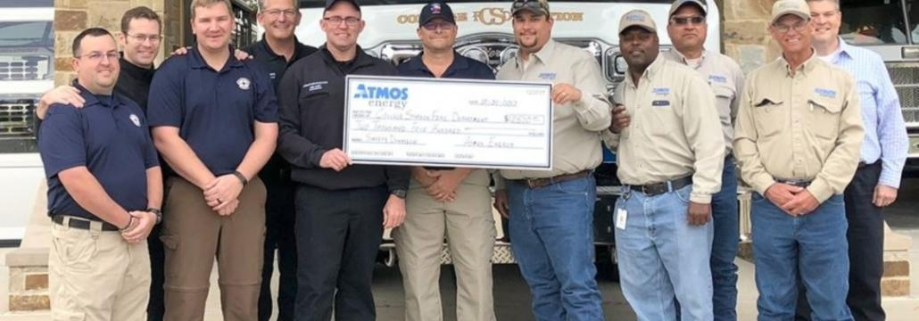 Donations Help Fire Departments with Fire Safety