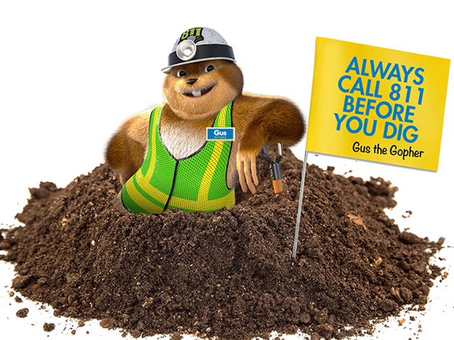 Gus the Gopher for Atmos Energy_Feature